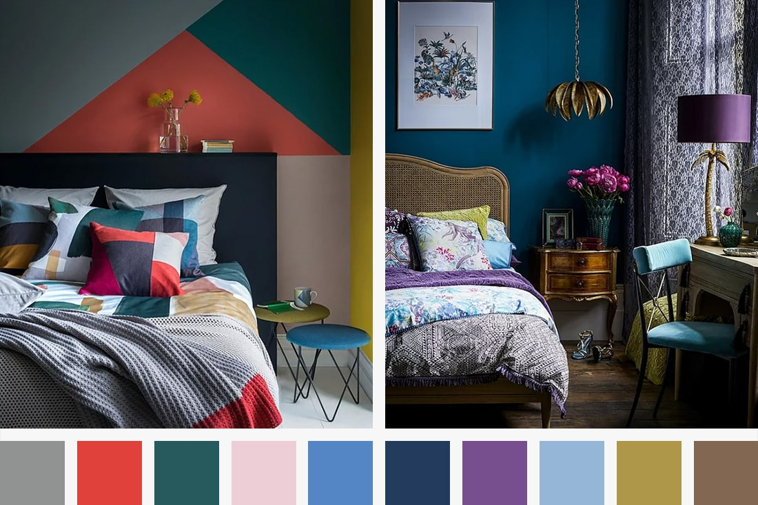 Colour Palettes and Emotions by The London Shutter Company