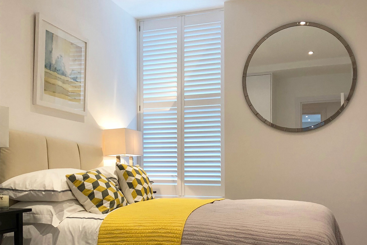 Bedroom Shutters by The London Shutter Company