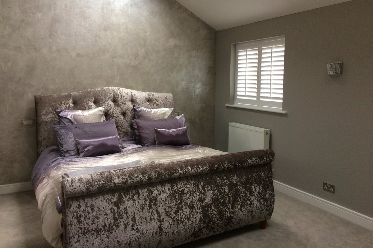 Sash Window Shutters - Bedroom Shutters - Window Shutters - The London Shutter Company