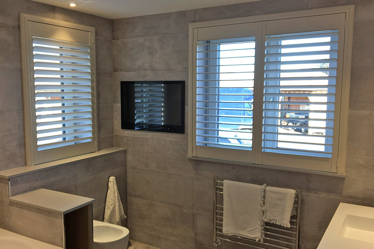 Bathroom Shutters by The London Shutter Company