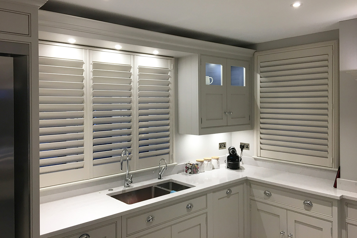 Sash Window Shutters - Kitchen Shutters - Window Shutters - The London Shutter Company